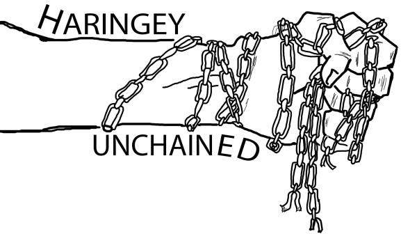 Haringey Unchained Logo